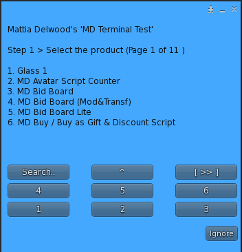 Mass Redelivery – Step 1 – Product selection