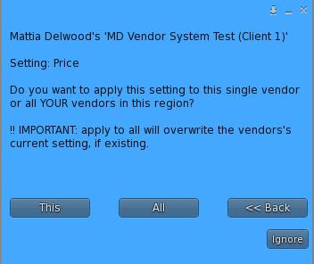 multiple setup menu