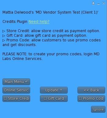 Store Credit & Gift Card Plugin – Menu