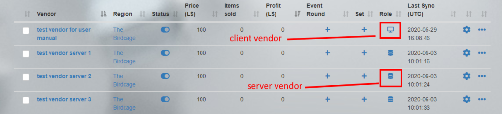 MD Vendor System homepage – Vendor's role
