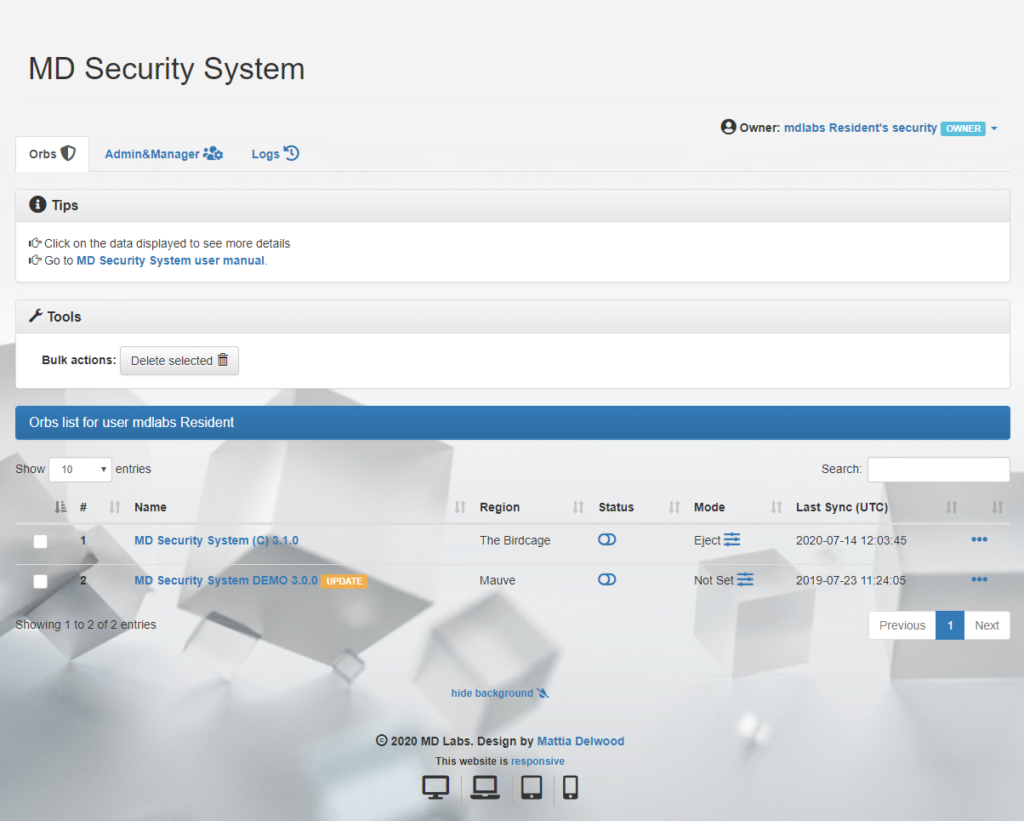 MD Security System @ MD Labs Online Services
