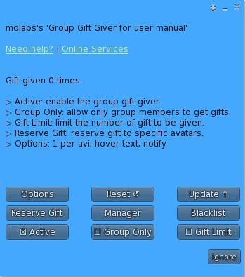 MD Group Gift Giver Script - Owner Menu